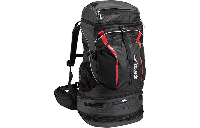 Speedo Tri Clops Backpack – Best Overall Triathlon Bag