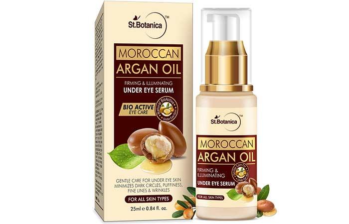 St. Botanica Moroccan Argan Oil Firming & Illuminating Under Eye Serum