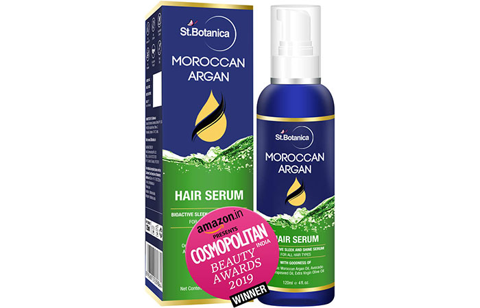 St. Botanica Moroccan Argon Hair Serum