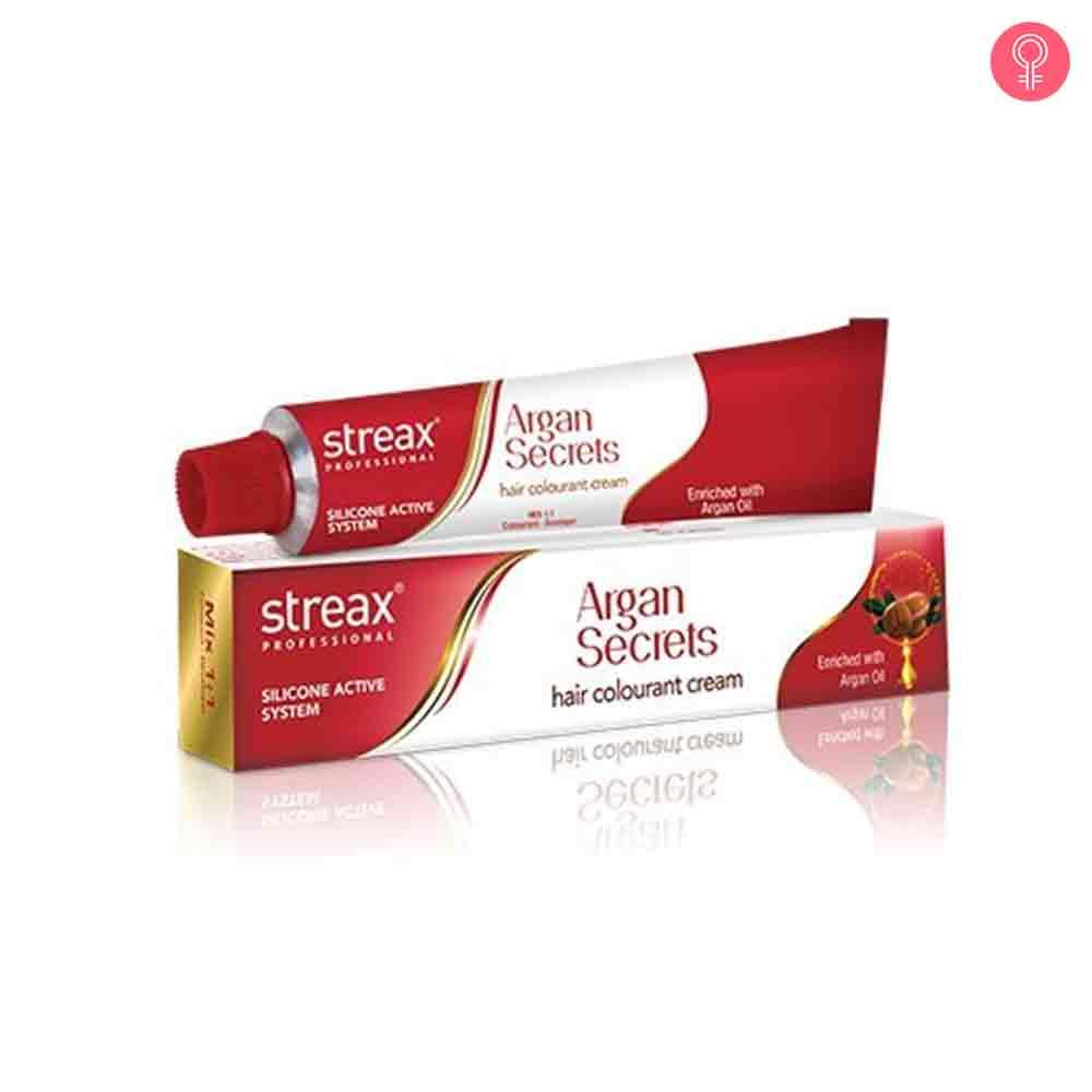 Streax Argan Secrets Hair Colourant Cream