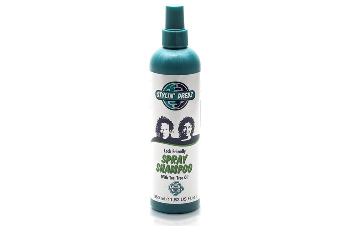 Stylin Dredz Spray Lock FriendlySpray Shampoo