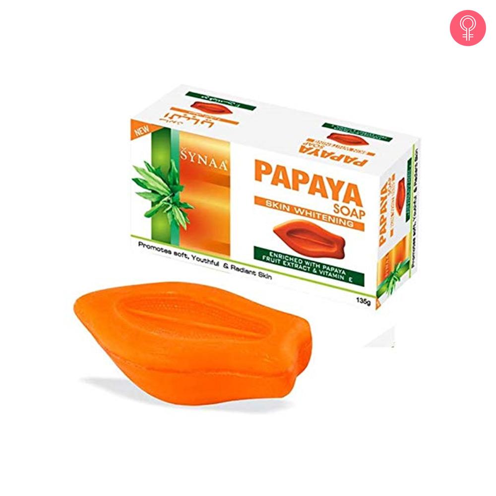 Synaa Papaya Soap Skin Whitening Soap