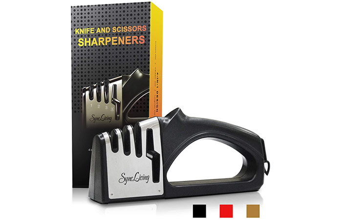 Sync Living Knife and Scissors Sharpener