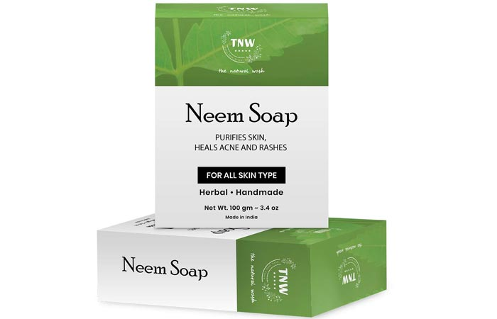 TNW Handmade Purifying Neem Soap For Acne