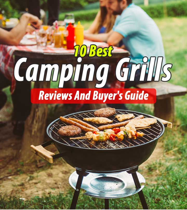 The 10 Best Camping Grills of 2020 – Reviews and Buyer's Guide