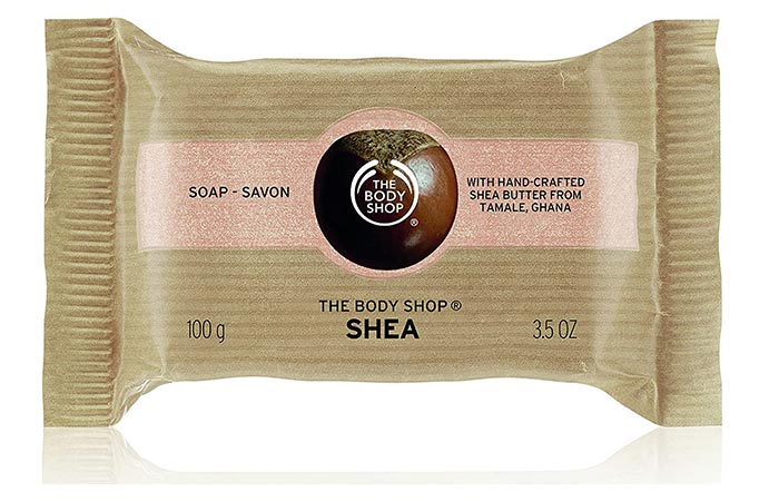 The Body Shop Shia Soap