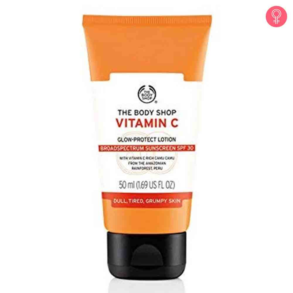 The Body Shop Vitamin C Glow Protect Lotion