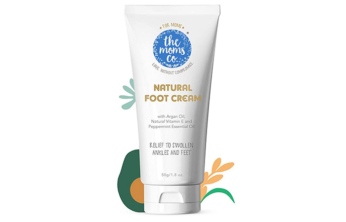 The Moms Natural Cooling Foot Cream