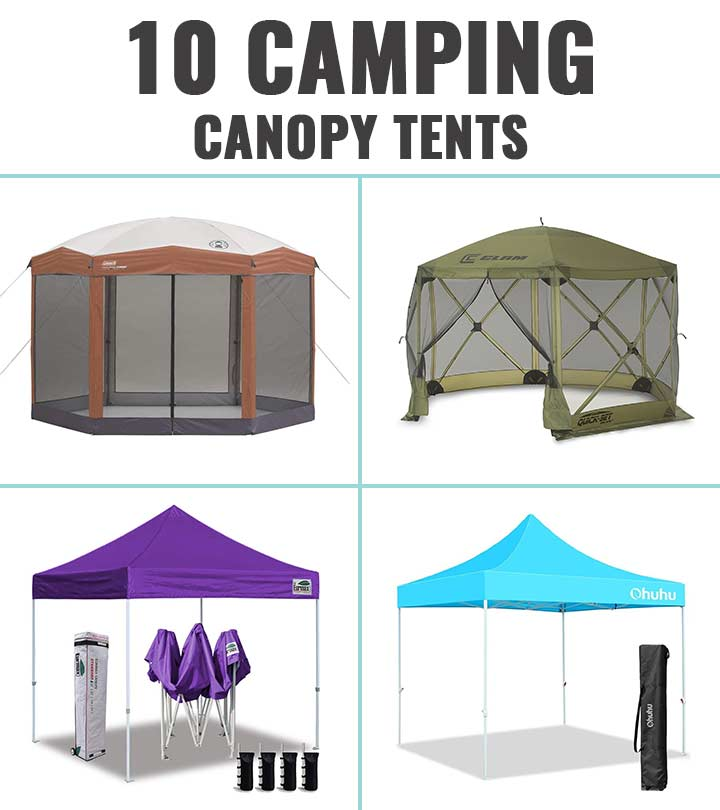 Top 10 Camping Canopy Tents – 2020 Best Picks And Reviews