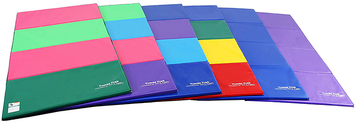 Tumbl Trak Gymnastics Folding Tumbling Panel Mat