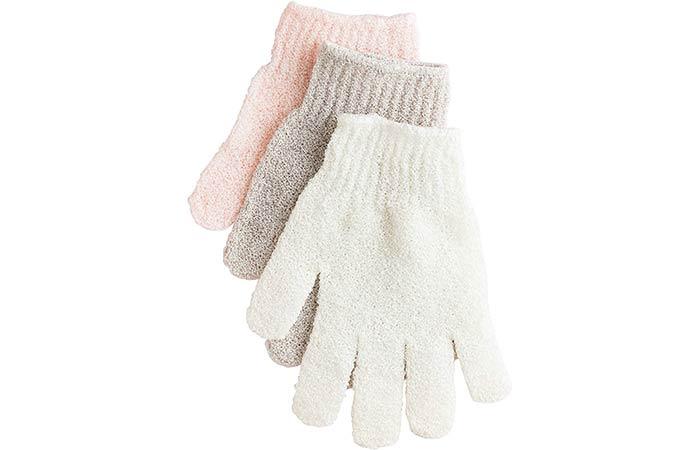 Urbana Exfoliating Gloves