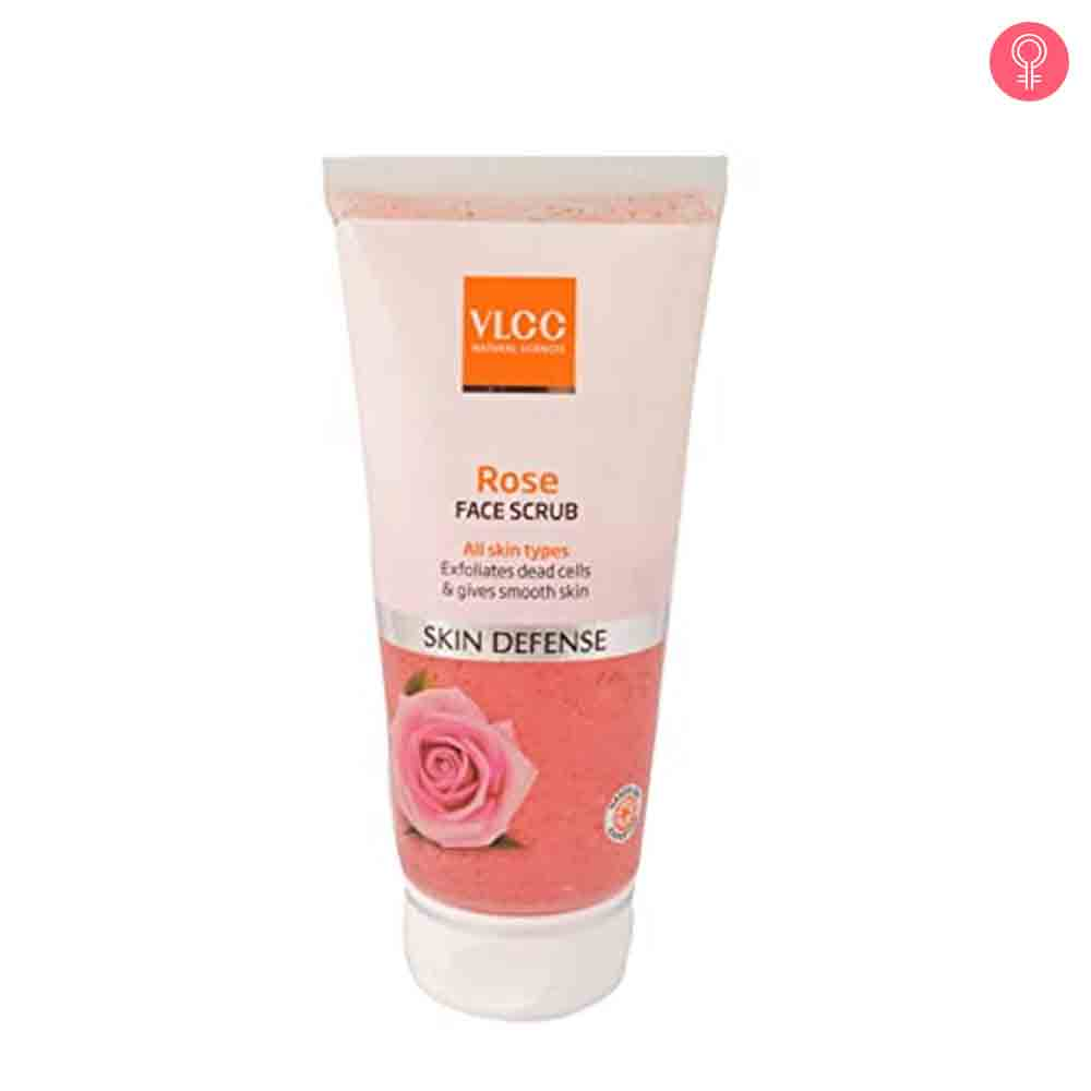 VLCC Natural Sciences Skin Defense Rose Face Scrub