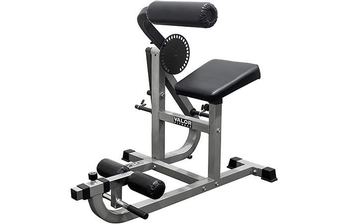 Valor Fitness DE-5 Plate Loaded AbBack Machine