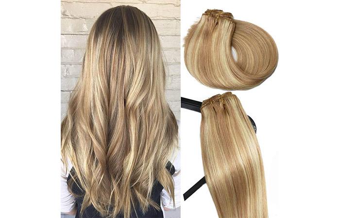 Vario Blonde Balayage Clip
