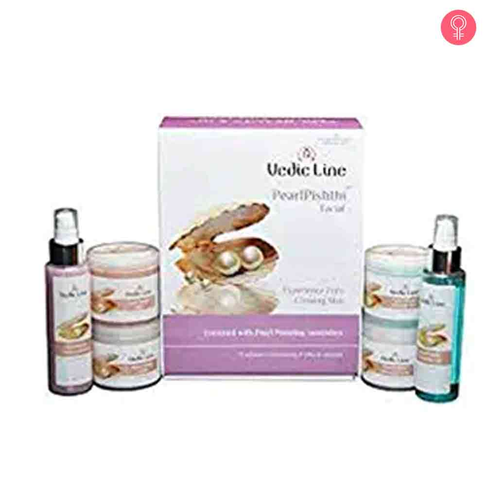 Vedic Line Pearl Pishthi Facial Kit