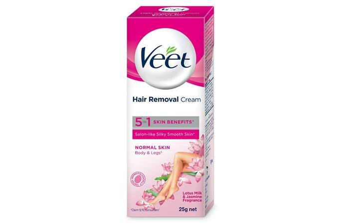 Veet Silk Fresh Hair Removal Cream