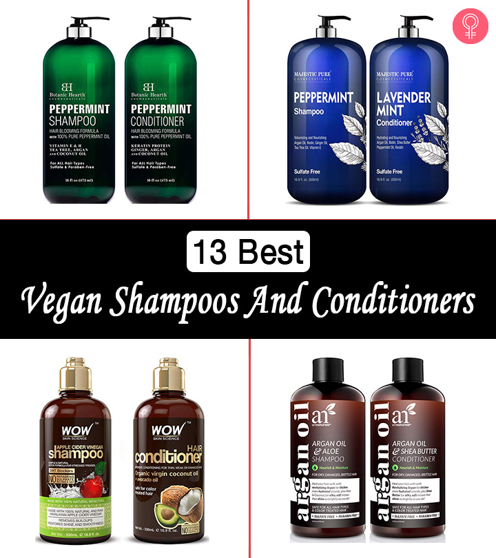 13 Best Vegan Shampoos And Conditioners