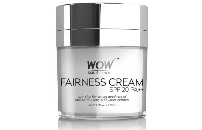 WOW Fairness SPF 20 PA cream