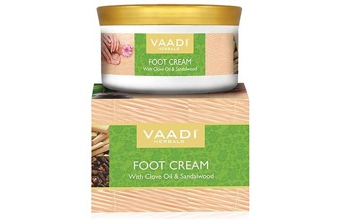 Wadi Herbals Foot Cream, Clove and Sandal Oil