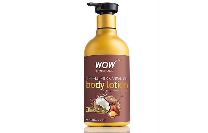 Wao Coconut Milk and Argan Oil Body