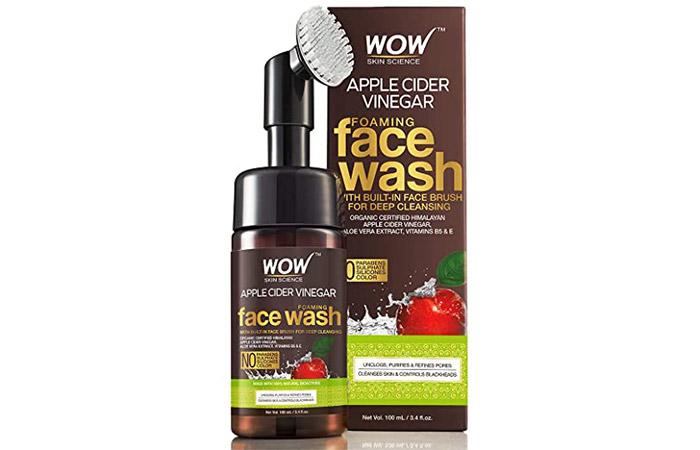 Wao Organic Apple Cider Vinegar Foaming Facewash