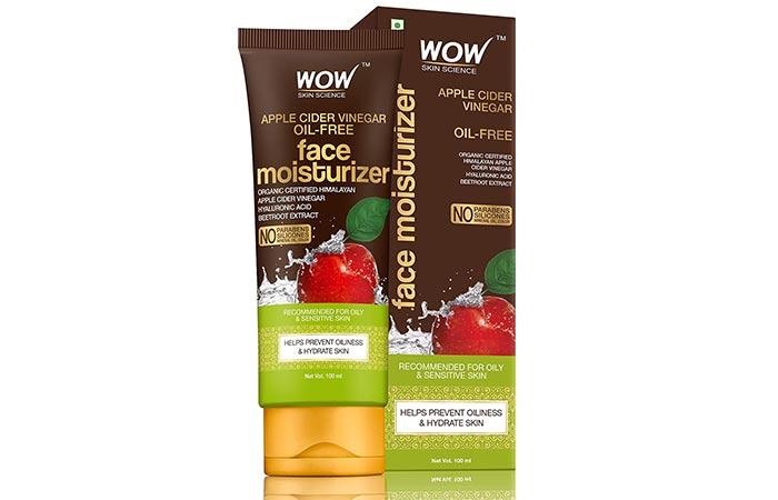 Wao Skin Science Organic Apple Cider Vinegar Face Moisturizer