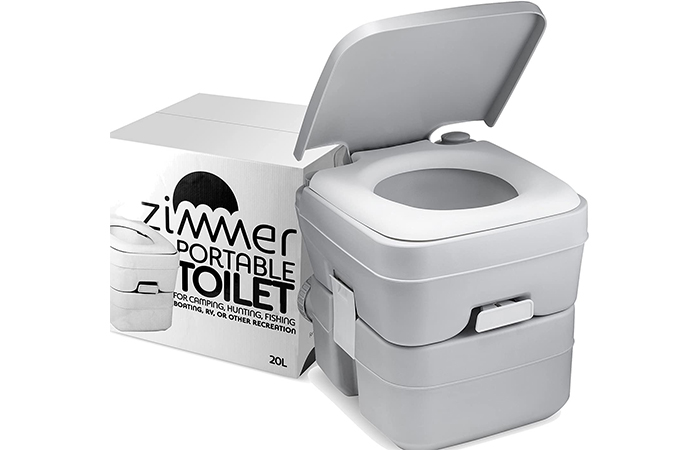 Zimmer Portable Camping Toilet