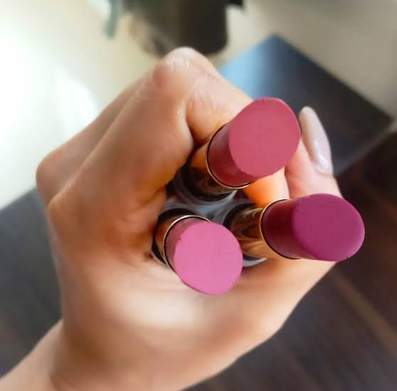 Faces Glam On Velvet Matte Lipstick pic 3-Faces Glam Matte Lipstick – Now or Never-By vandanabhatia