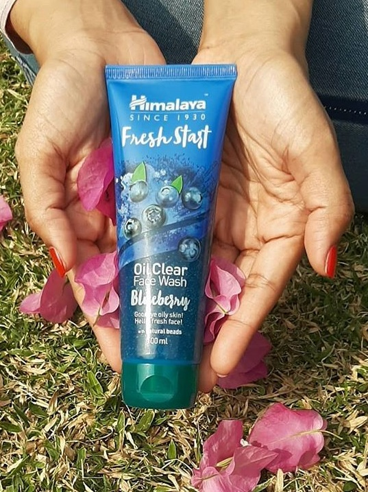 Himalaya Herbals Fresh Start Oil Clear Blueberry Face Wash-The Best Face Wash I have ever used-By exploexplo20