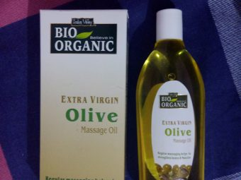 Indus Valley Bio Organic Extra Virgin Olive Massage Oil -Good olive oil-By neha_tandon