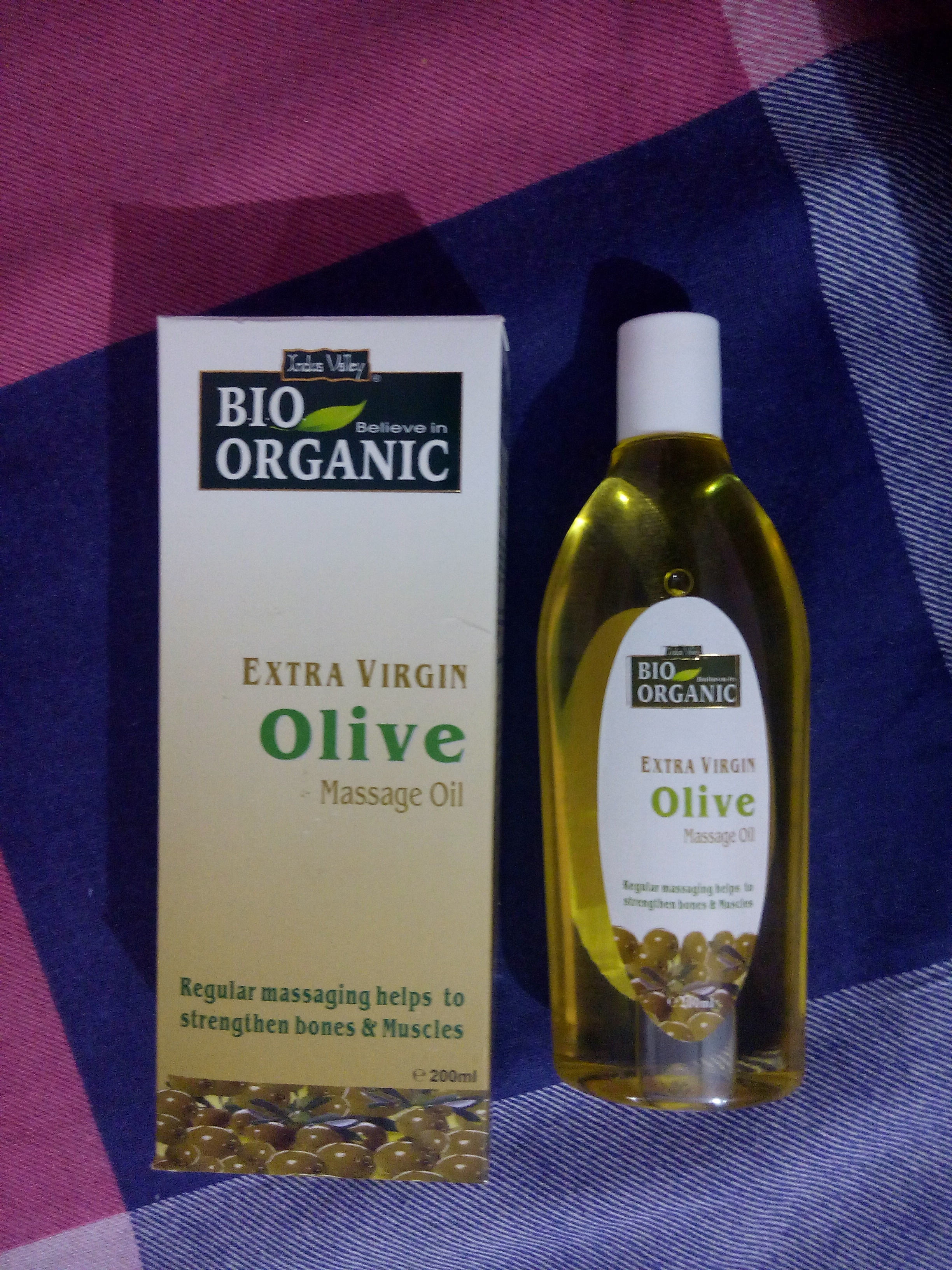 Indus Valley Bio Organic Extra Virgin Olive Massage Oil-Good olive oil-By neha_tandon