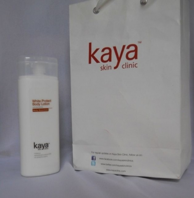 Kaya White Protect Body Lotion -smooth and silky-By iamshraddha_
