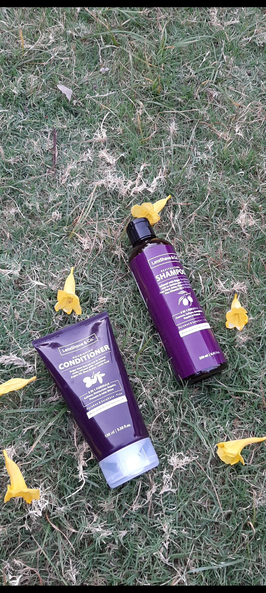 LetsShave Shampoo Conditioner Pack-Best shampoo & for all hair types-By divyangana