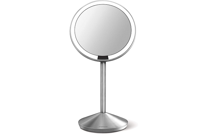 simplehuman Mini Sensor Lighted Makeup Travel Mirror