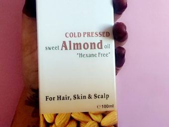 Indus Valley Cold Pressed Sweet Almond Oil -Multi purpose natural almond oil-By surbhi_nisal