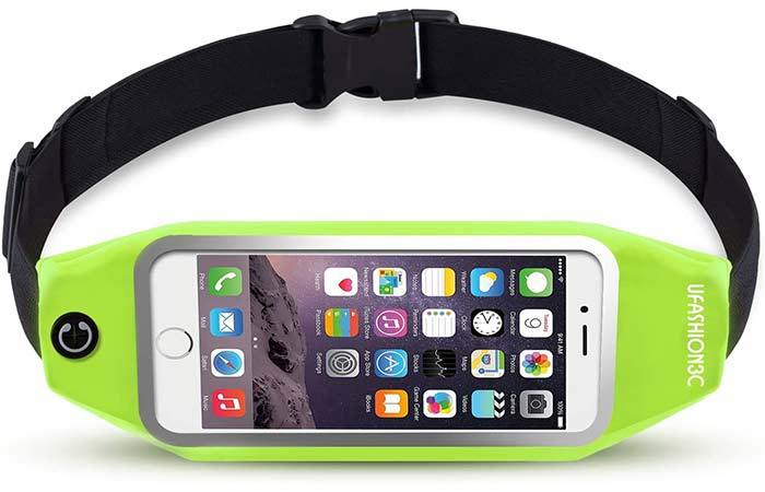 uFashion3C Running Belt – Best Touchscreen Friendly Waist Pack