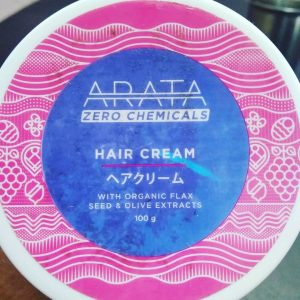 Arata Organic Flaxseed & Olive Oil Hair Cream pic 2-Perfect for my curly hair-By sukanyapulakkal