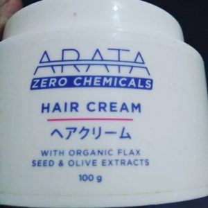 Arata Organic Flaxseed & Olive Oil Hair Cream pic 1-Perfect for my curly hair-By sukanyapulakkal