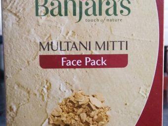 Banjaras Multani Mitti Face Pack Powder pic 3-Ever Time Favourite skincare product-By sukanyapulakkal