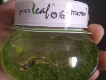 Green Leaf Pure Aloe Vera Skin Gel pic 3-Best for my OILY , ACNE PRONE skin-By sukanyapulakkal