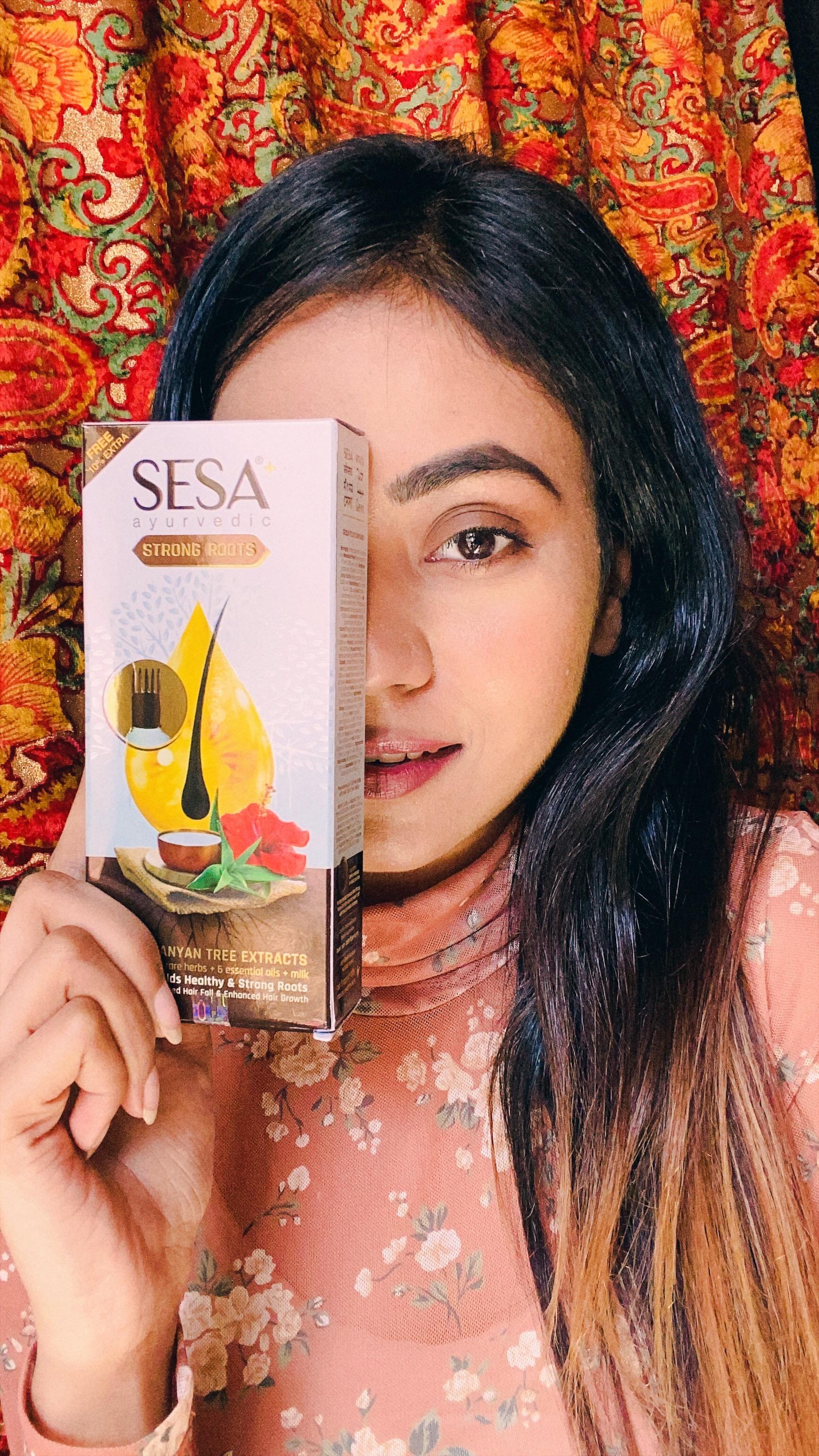 SESA Hair Oil-control hair fall-By honey_singh-2