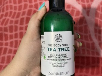 The Body Shop Tea Tree Skin Clearing Mattifying Toner -Prevents acne-By shachi_sharma