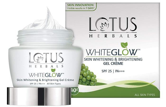 Lotus Herbals Whiteglow Skin Whitening And Brightening Gel Cream