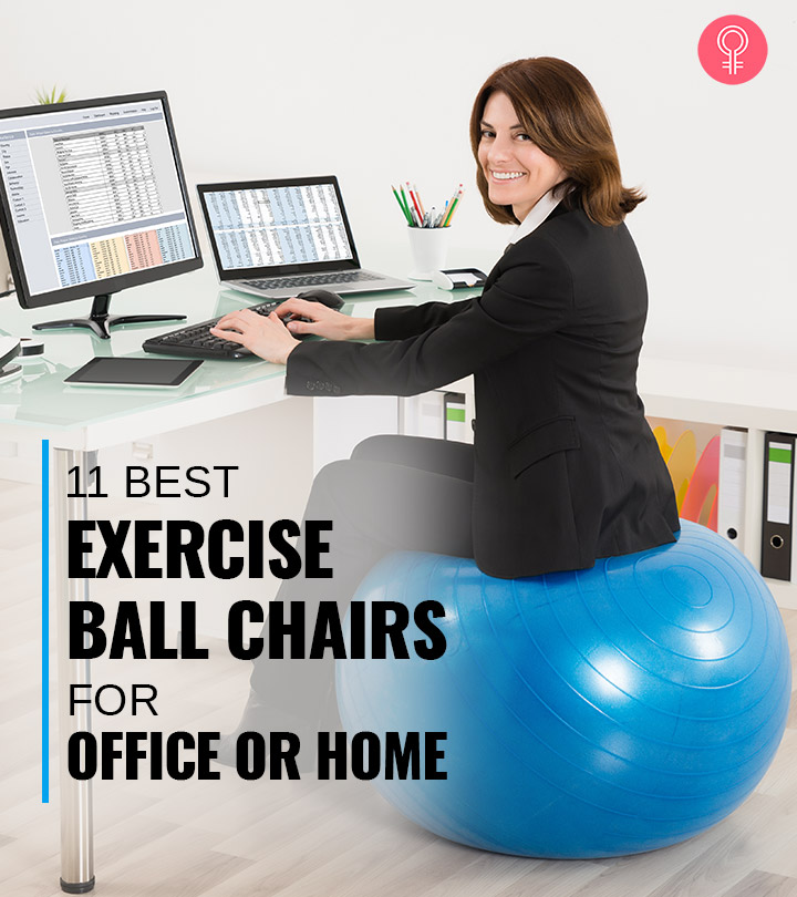 11 Best Exercise Ball Chairs Of 2021 For Better Posture