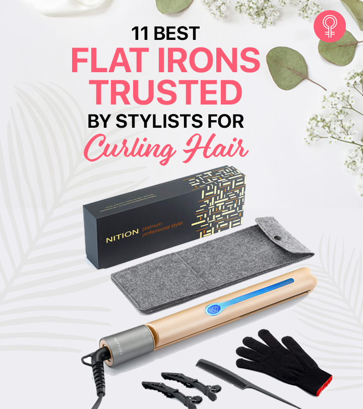 11 Best Flat Irons Trusted By Stylists For Curling Hair