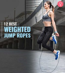 12 Best Weighted Jump Ropes Of 2020 For Home Workouts