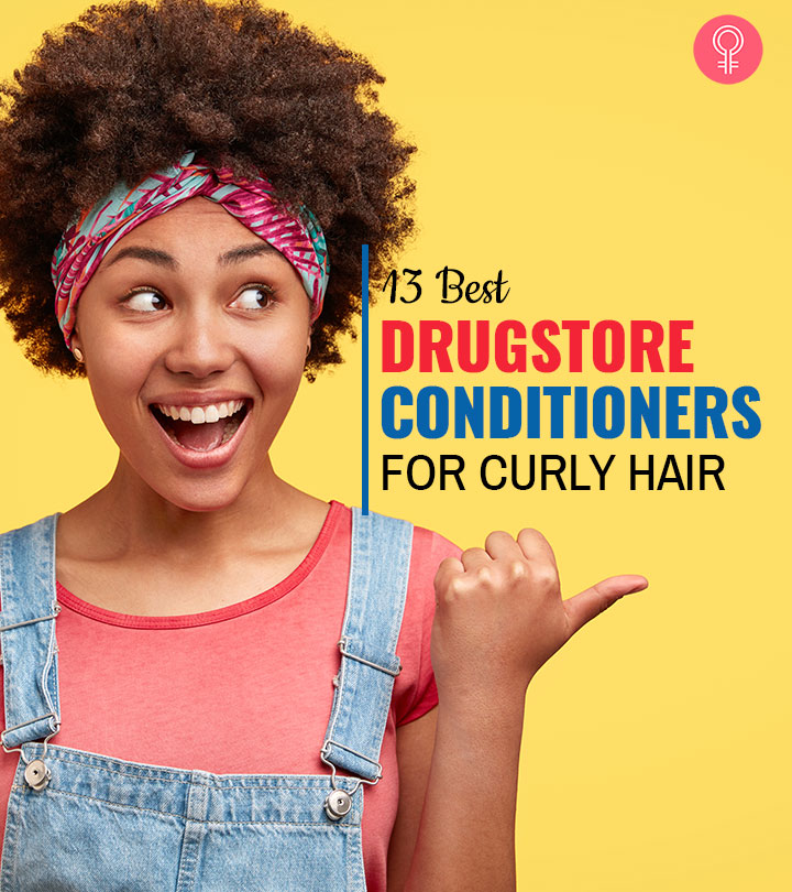 13 Best Drugstore Conditioners For Curly Hair
