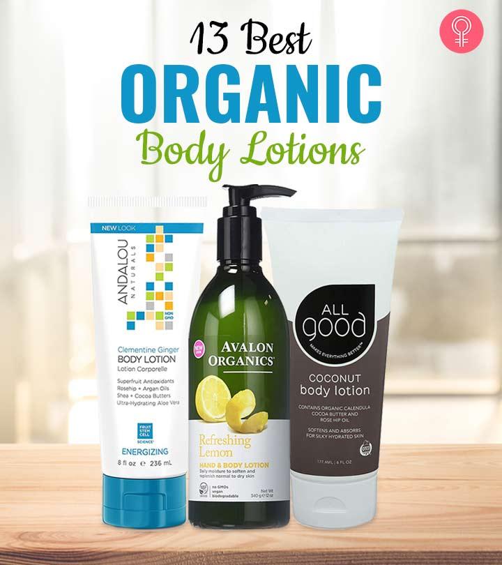 13 Best Organic Body Lotions – 2020