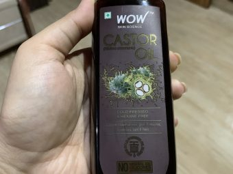 WOW Skin Science Castor Oil -For Hair Growth!-By sunenaaa