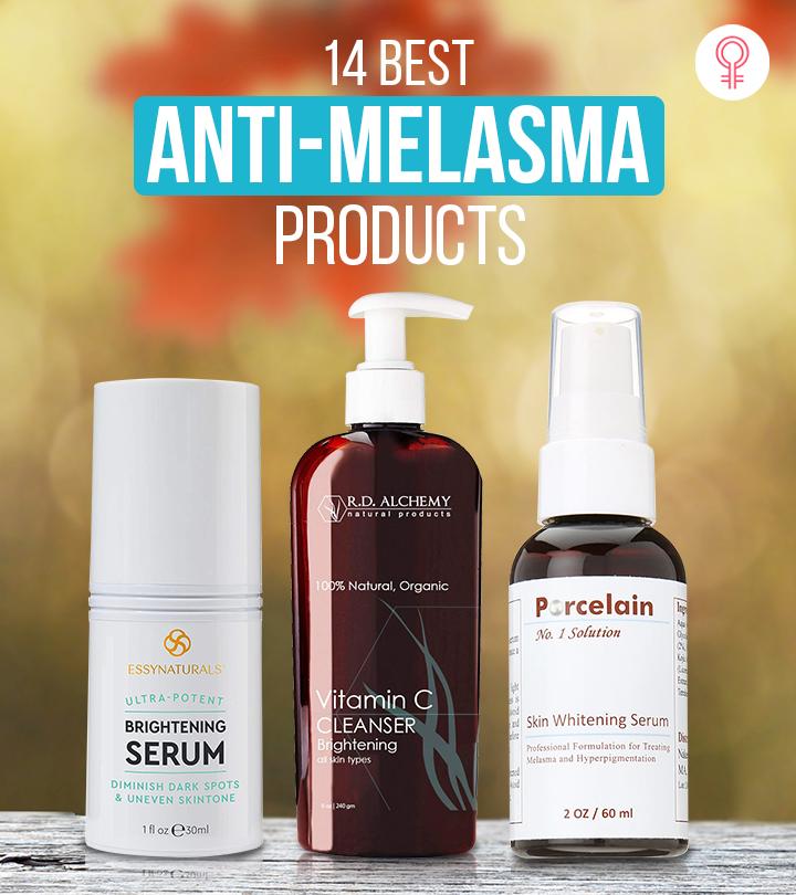 14 Best Anti-Melasma Products